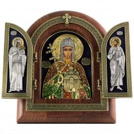 Икона - Святой Царь Лазарь Сербский