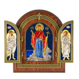 Τρίπτυχο - Η Παναγία Ατονίτισα