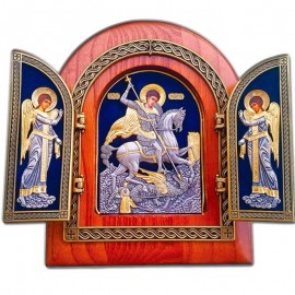 Triptych Icon - The seven-pointed icon