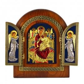 Triptych Icon - Pantanassa
